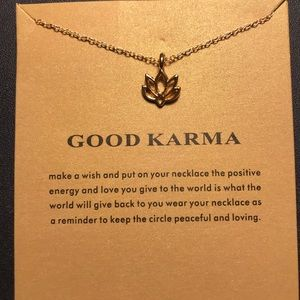 Jewelry - JUST IN🌷 Good Karma Necklace